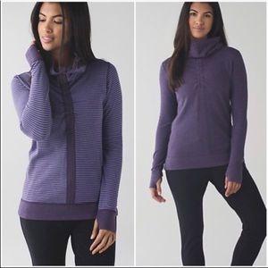 Lululemon funnel neck sweatshirt